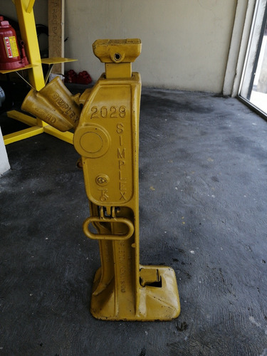 gato escalera simplex 20 toneladas