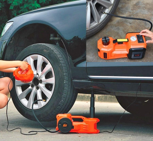 gato hidráulico automático + pistola de impacto eléctrico