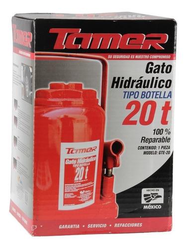 gato hidraulico botella 20 t tamer mikels