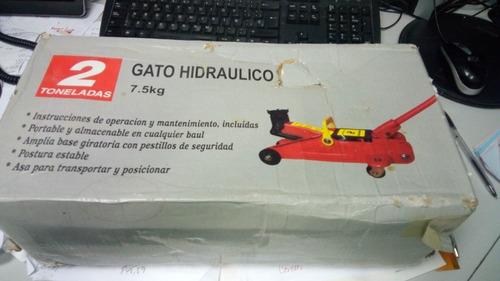 gato hidraulico tipo caiman de 2 ton - 7,5 kgs