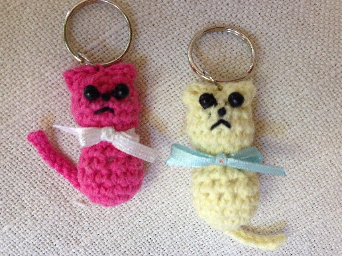 Gato Amigurumi Llavero : Llaveros en crochet en mercado libre uruguay
