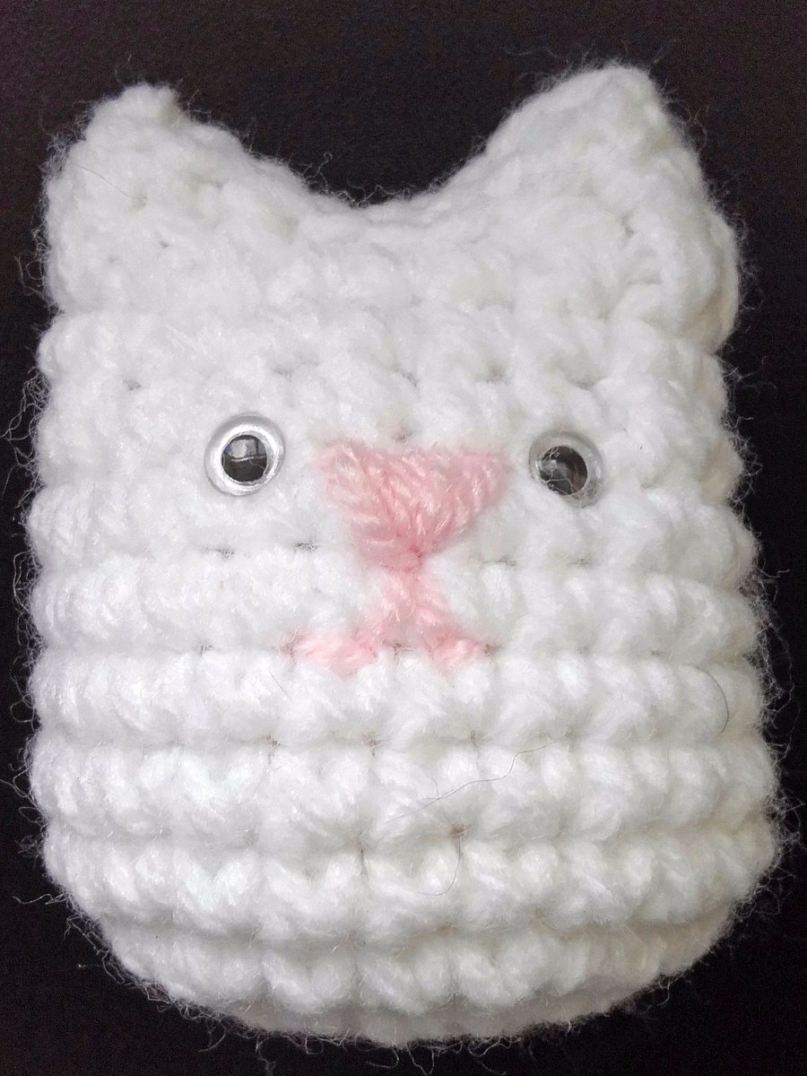 Gato Mini Souvenir Llavero Decoracion Crochet Amigurumi Bebé - $ 37 ...