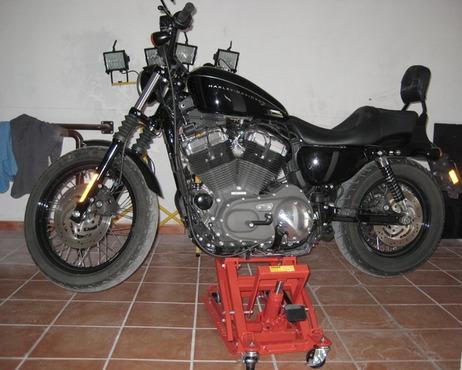 gato para motocicleta 1500 libras