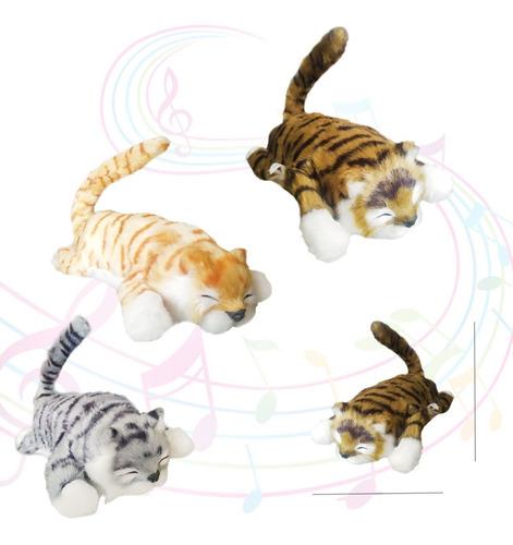 gato peluche juguete sonido movimientos juguetería didactico
