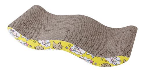 gato rascando cartón corrugado tablero rascador cama post