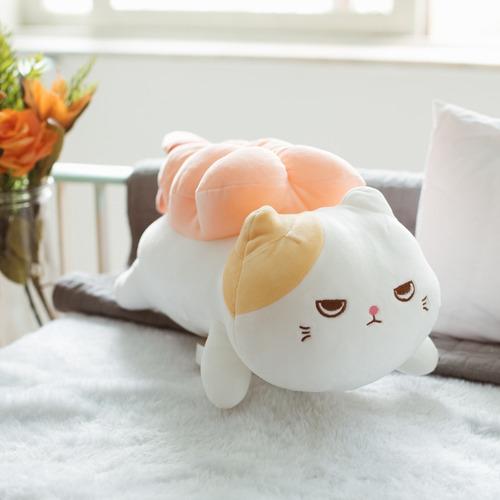 gato sushi camarão de pelúcia miniso