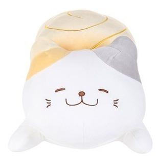gato sushi tamagoyaki de pelúcia miniso