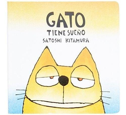 gato tiene sueño, satoshi kitamura, fce