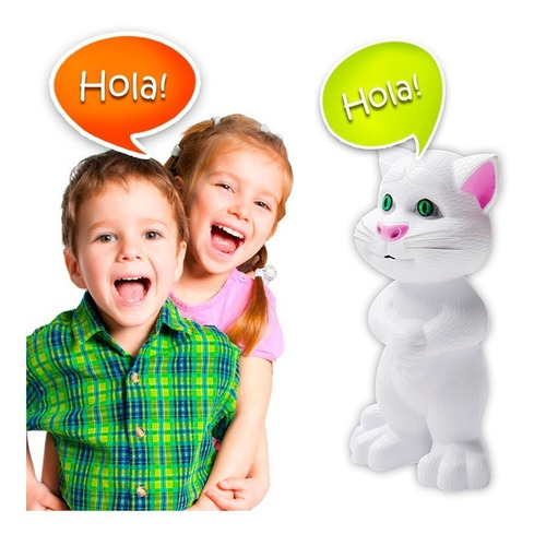 gato tom juguete didáctico táctil sonido juguete interactivo