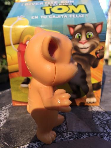 gato tom talking tom mc donalds naranja