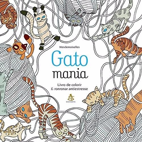 Gatomania Livro De Colorir Jardim Secreto Gatos Antistress - R$ 25,90 em Mercado Livre