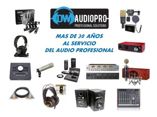 gator gm4 estuche para 4 microfonos - facturas a y b