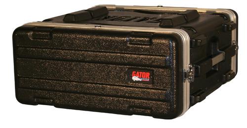 gator gr-4l rack 19  de 4 unidades anvil plastico inyectado