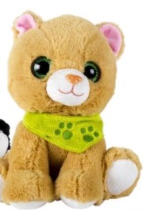 gatos de peluche bright premium de 25 cms