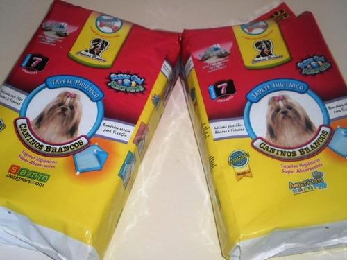 gatos  e gatas tapete higiênico para 7 unidade