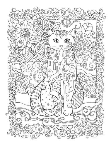 gatos o livro de colorir para quem é louco por esses animais