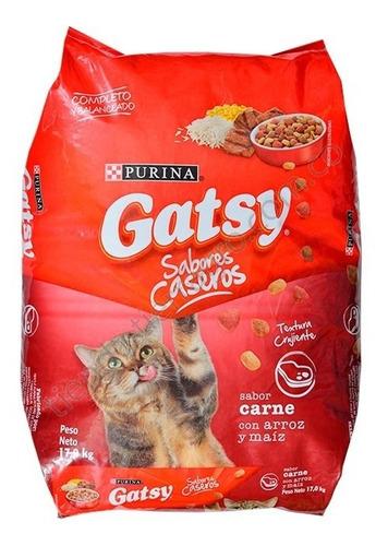 gatsy  17 kl comida para gatos - kg a $5824