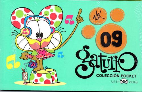 gaturro 10.11 coleccion pocket + manga