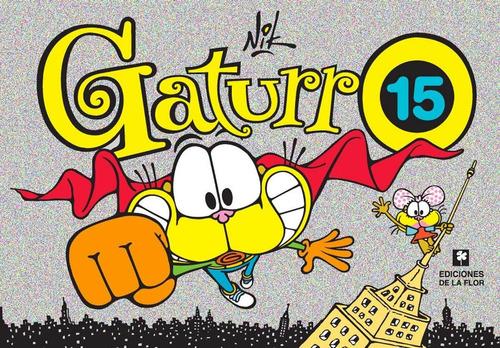 gaturro nro. 15 libro de historietas usado muy buen estado