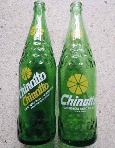 gavera 7up con botellas de refresco chinotto tamaño familiar