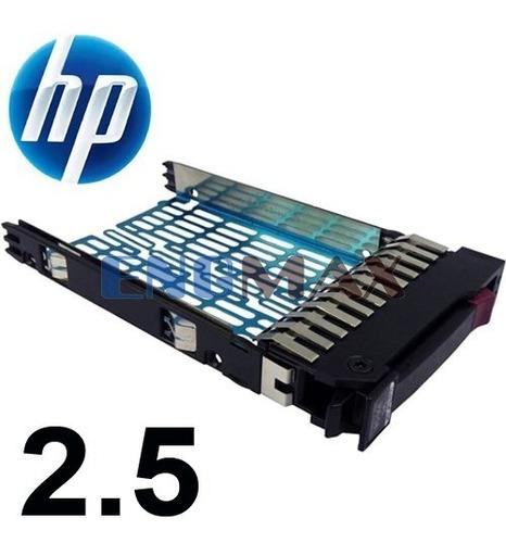 gaveta hd 2.5 servidor hp proliant dl380 g6, dl380 g7