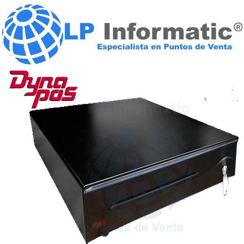 gaveta para dinero metálica dynapos - pos-d - ncr- seminueva