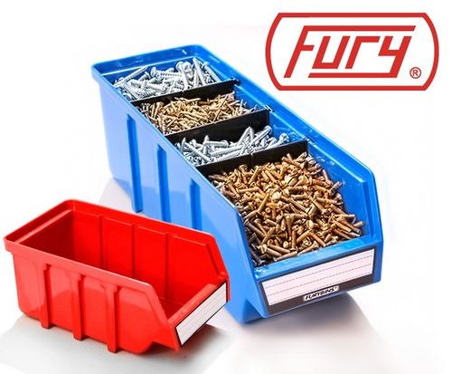 gaveta plastica cajon organizador fury fb-5 furybins azul