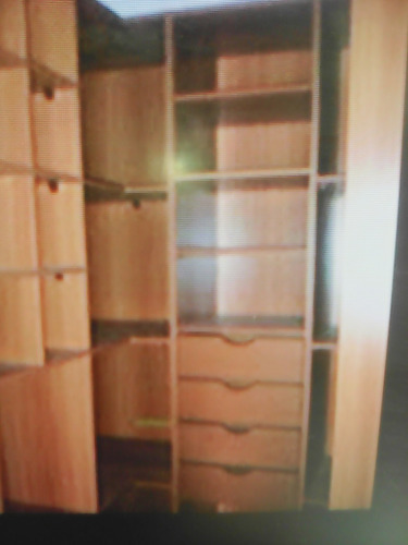 gavetas para closet, madera importada de francia.