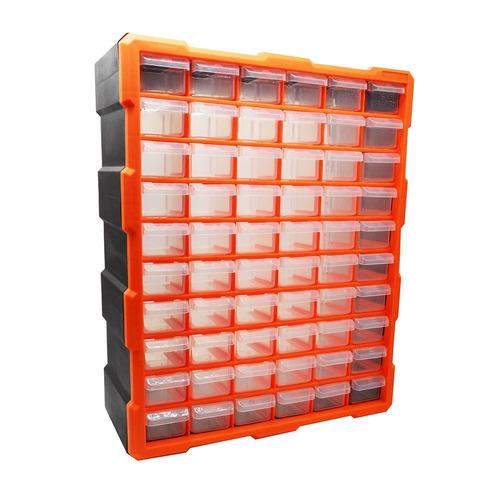 gaveteiro 60 gavetas organizador 120 divisorias multiuso
