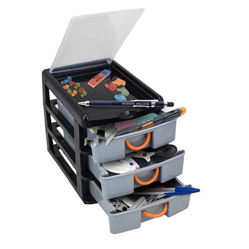 gaveteiro organizador multiuso caixa organizadora escritorio