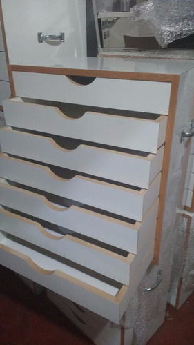gaveteiro para pastel em madeira com 7 gavetas novo!!fábrica