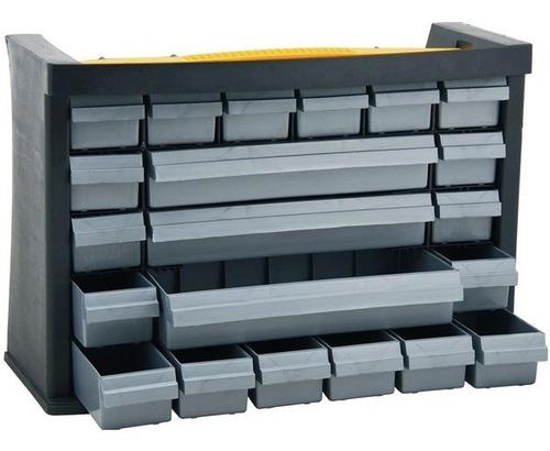 gaveteiro plástico organizador multiuso com 21 gavetas