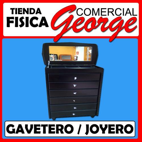 gavetero joyero mdf com george boleita sur bingo premier