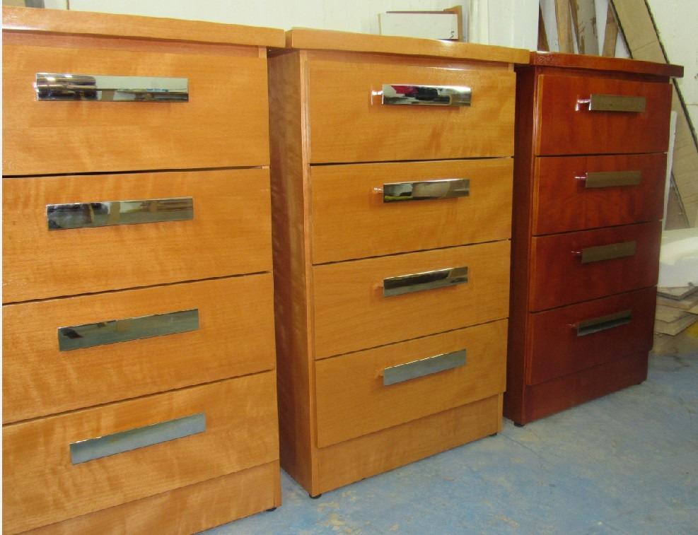 Gavetero madera mdf enchapillado cedrillo 4 cajones de lujo bs en mercado libre - Cajones de madera ...