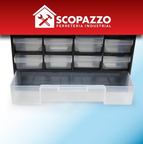 gavetero organizador plástico 33 cajones gavetas omaha