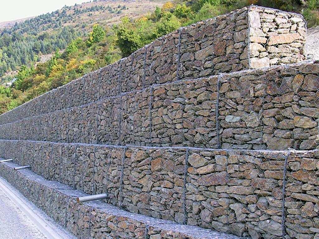 gaviones de alambre muros de contencion precio x m