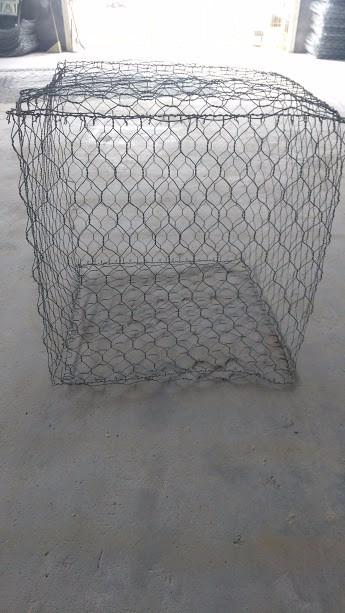 Gaviones de malla de alambre galvanizado triple torsion - Malla para gaviones ...