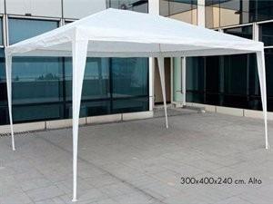 gazebo 3x4 gigante rafia blanca evento show camping viaje