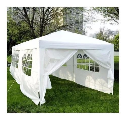 gazebo 6x3mts con puerta y ventanas impermeable ideal evento
