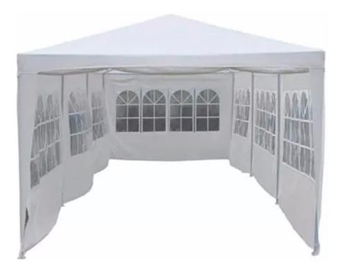 gazebo 9x3 pared ventana + puerta impermeable ideal evento