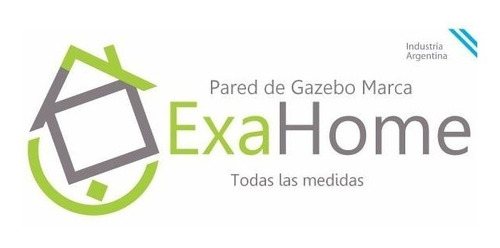 gazebo autoarmable 3x3 impermeable exahome + 3 paredes bolso
