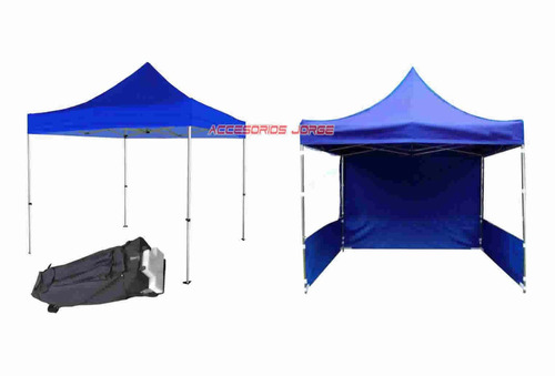 gazebo importado aluminio plegable 3x3 3 paredes outdoors
