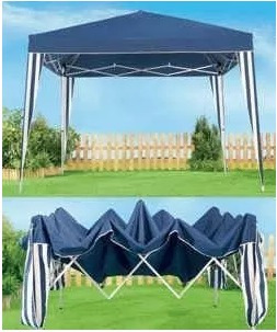 gazebo plegable 3x3 carpa sombrilla con bolso sogas y estaca
