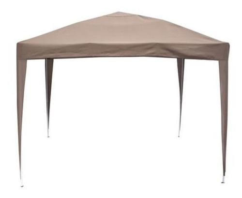 gazebo plegable de 3 x 3 m just home collection - elbunkker