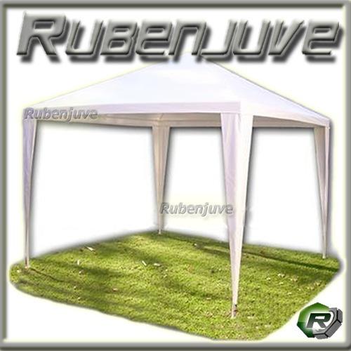 gazebo rafia 2.4x2.4 de raffia jardín patio sombrilla