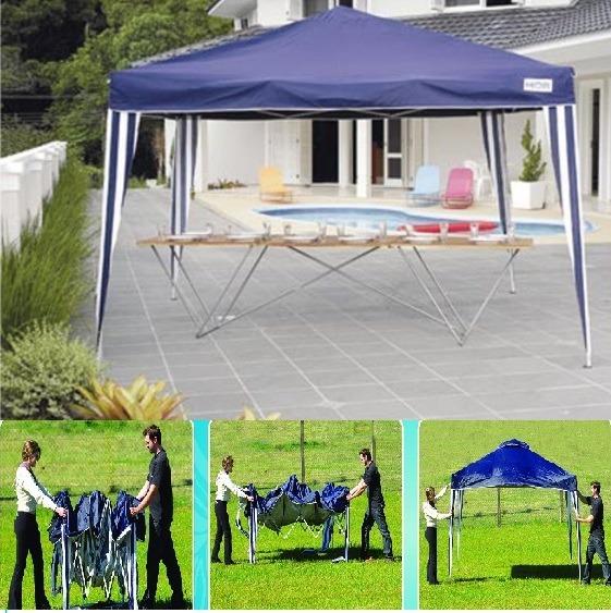 75b4e5f51a24c Gazebo Sanfonado X-flex 3mx3m Tenda Articulada Praia Mor Top - R  419,90 em  Mercado Livre