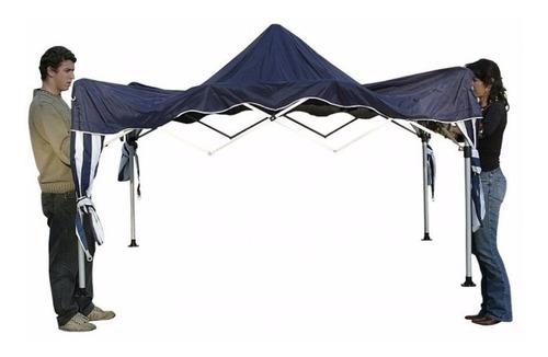 gazebo tenda articulado mor sanfonada 3x3  +4 paredes
