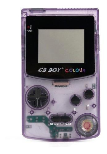 gb boy colour atomic purple tela iluminada 66 jogos nintendo