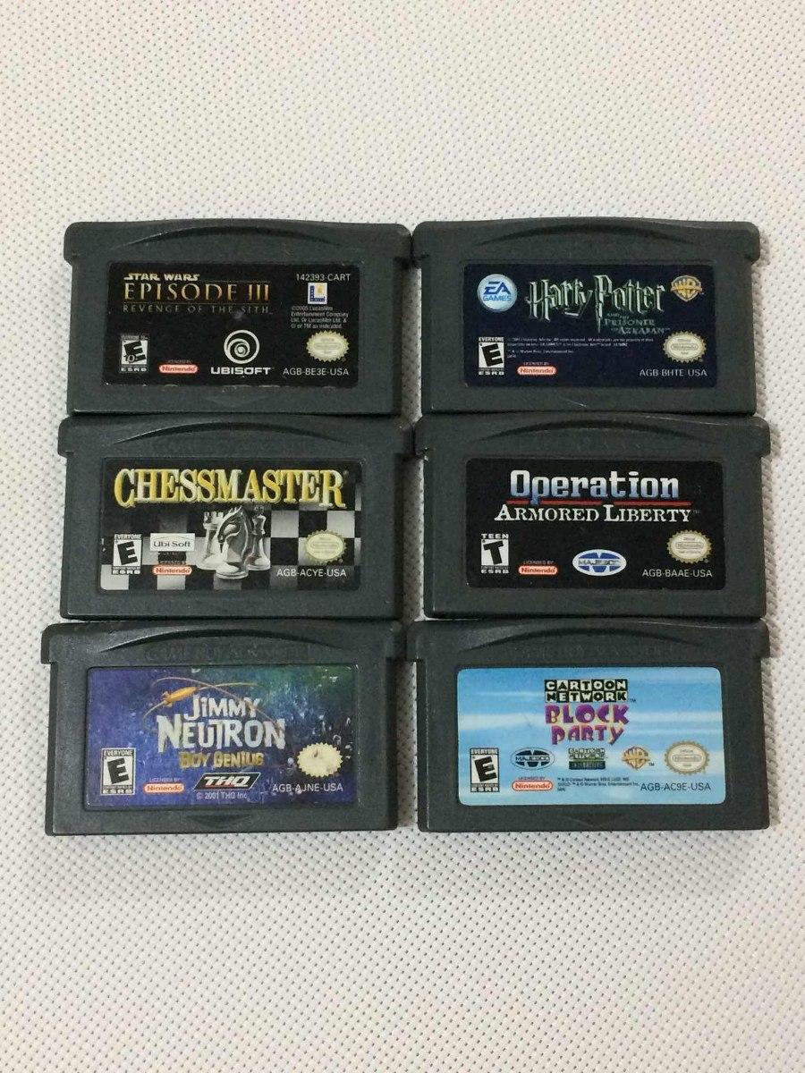 Gba 6 Juegos Star Wars 3 Harry Potter Etc 750 00 En Mercado Libre