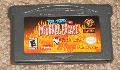 gba: tom and jerry in infurnal escape original americano!!